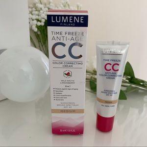 NIB Lumene Color Correcting CC Creme Medium